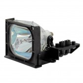 Original Inside lamp for PHILIPS 55PL9224 projector - Replaces 3122 438 71310