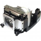 Original Inside lamp for EIKI LC-XBM26 projector - Replaces 610 349 7518