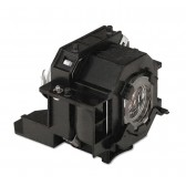 Original Inside lamp for EPSON EMP-410W projector - Replaces ELPLP42 / V13H010L42