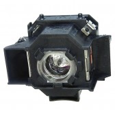 Original Inside lamp for EPSON MovieMate 72 projector - Replaces ELPLP43 / V13H010L43