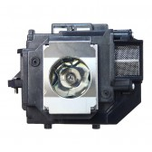 Original Inside lamp for EPSON PowerLite S10+ projector - Replaces ELPLP58 / V13H010L58