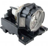 Original Inside lamp for HITACHI CP-WX645 projector - Replaces DT00873