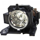 Original Inside lamp for HITACHI CP-X206 projector - Replaces DT00911